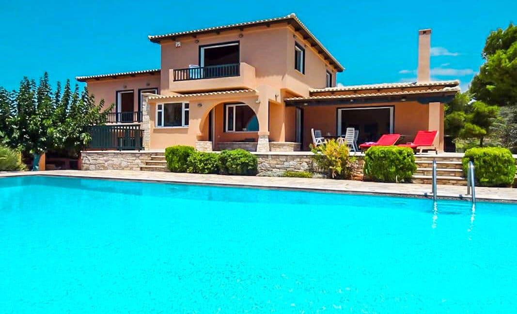 Villa with Pool and Sea View at Sounio Attica, Villas Sounio South Athens for sale