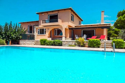 Villa with Pool and Sea View at Sounio Attica, Villas Sounio South Athens for sale 25