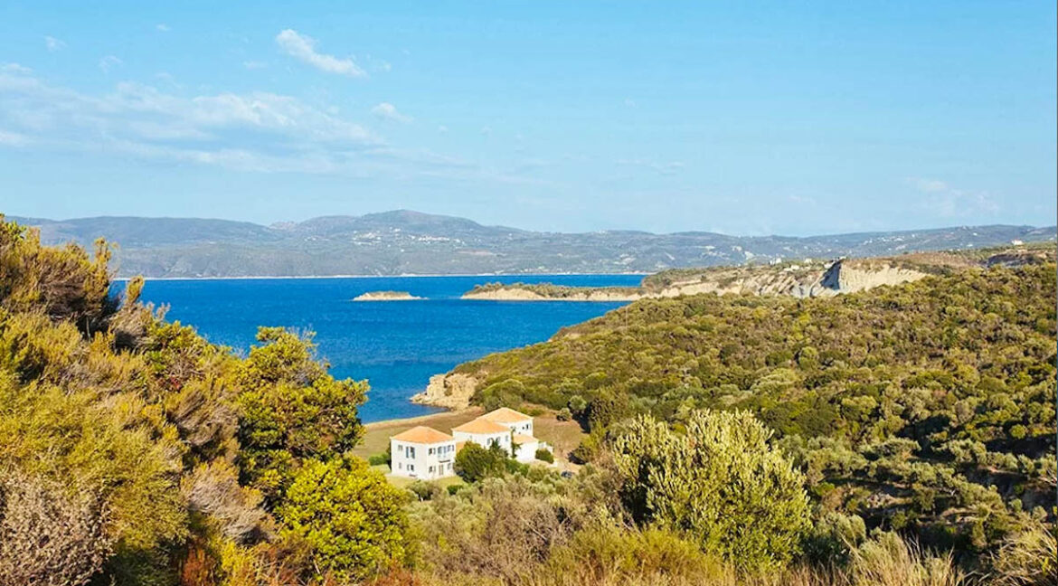 Beachfront home at Peloponnese, Seafront Properties in Greece