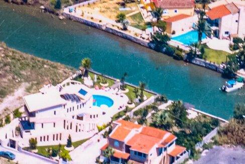 Corfu town Villa with deck for your boat, Corfu Luxury Properties. Corfu Luxury Homes 1
