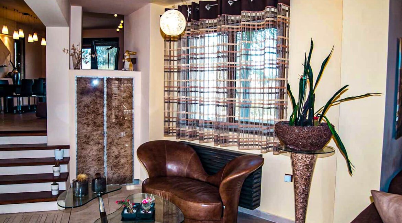 Corfu town Villa with deck for your boat, Corfu Luxury Properties. Corfu Luxury Homes 19