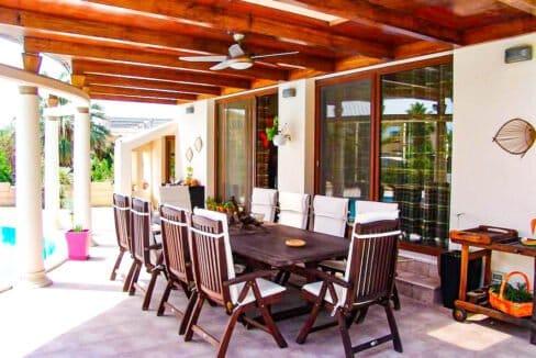 Corfu town Villa with deck for your boat, Corfu Luxury Properties. Corfu Luxury Homes 23
