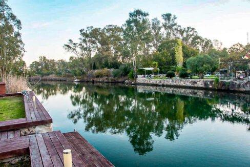 Corfu town Villa with deck for your boat, Corfu Luxury Properties. Corfu Luxury Homes 24