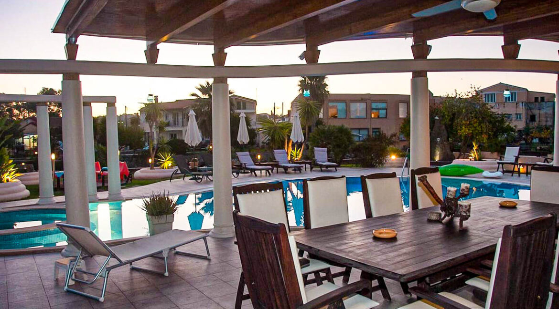 Corfu town Villa with deck for your boat, Corfu Luxury Properties. Corfu Luxury Homes 26