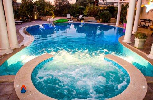 Corfu town Villa with deck for your boat, Corfu Luxury Properties. Corfu Luxury Homes