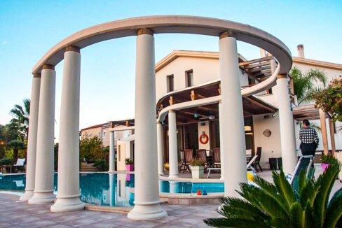 Corfu town Villa with deck for your boat, Corfu Luxury Properties. Corfu Luxury Homes 4