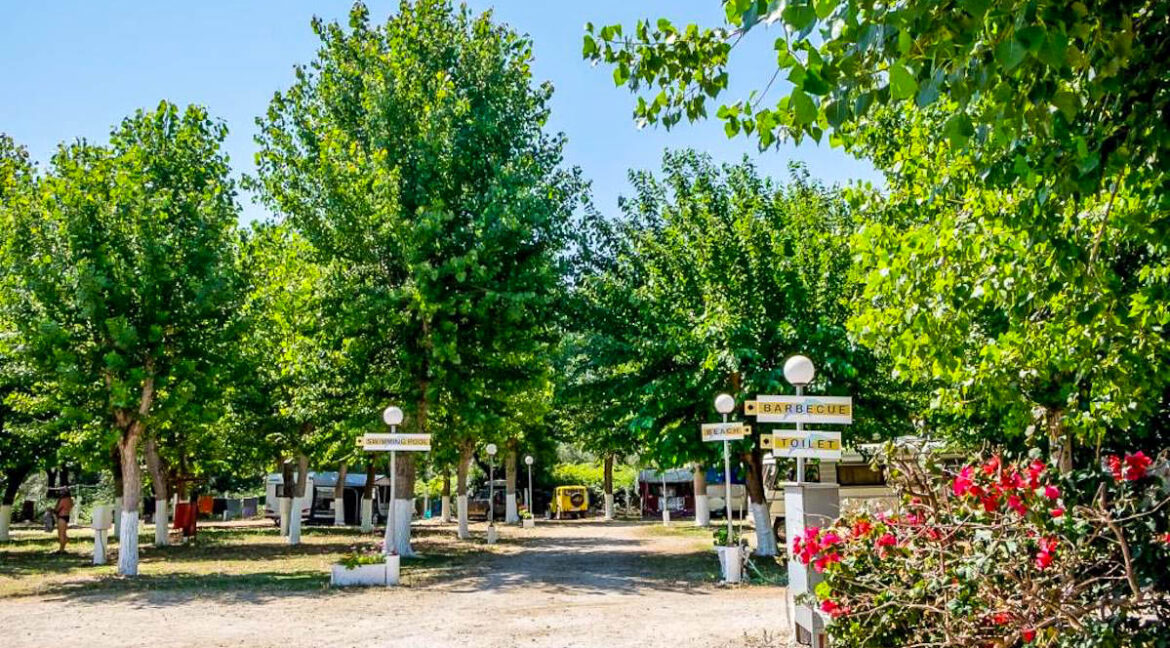 For Sale Camping in Greece, Seafront Land for Hotel 14