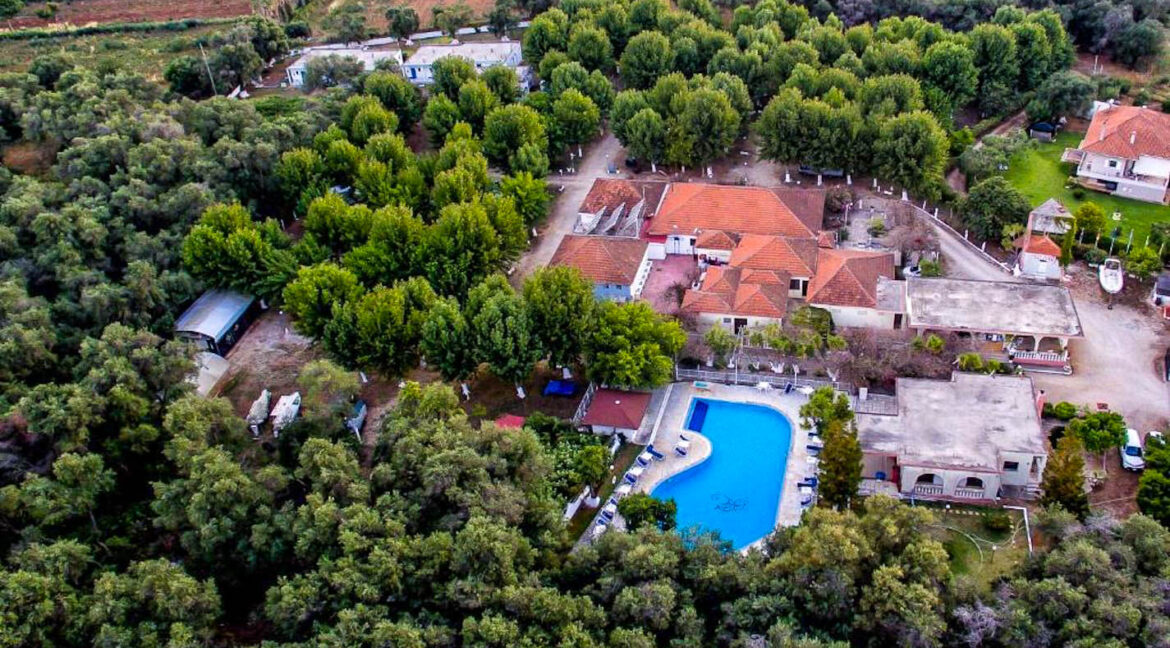 For Sale Camping in Greece, Seafront Land for Hotel 21