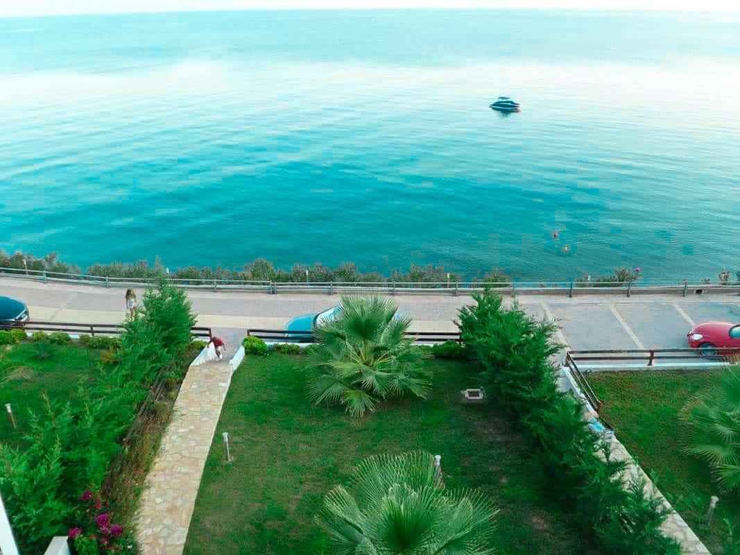 Kassandra Luxury beachfront villa
