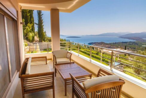 Panoramic View Villa in Peloponnese, Luxury Property in Peloponnese 10