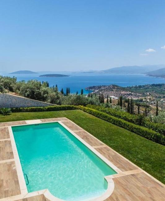 Panoramic View Villa in Peloponnese, Luxury Property in Peloponnese 19