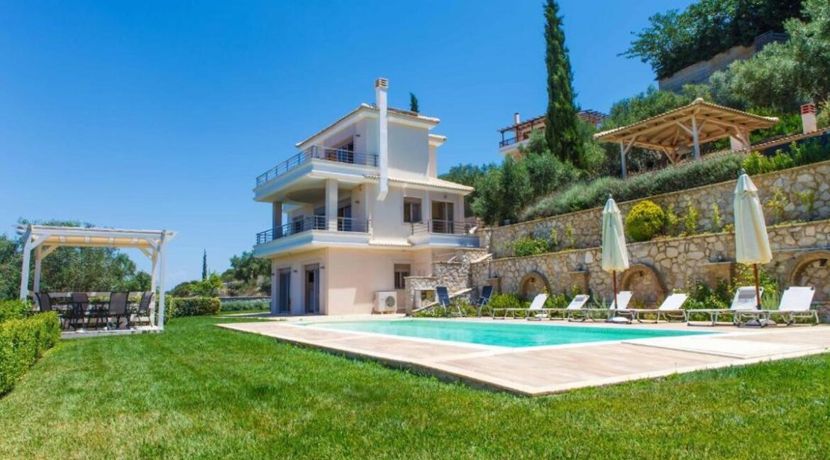 Panoramic View Villa in Peloponnese, Luxury Property in Peloponnese 21