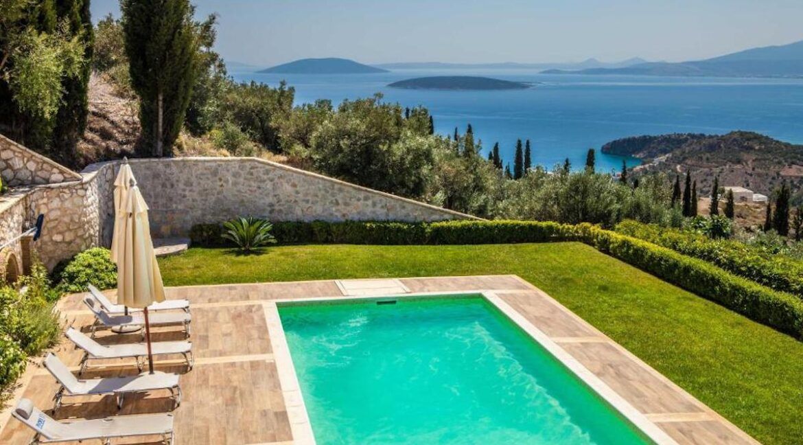 Panoramic View Villa in Peloponnese, Luxury Property in Peloponnese 22