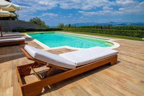 Panoramic View Villa in Peloponnese, Luxury Property in Peloponnese 25