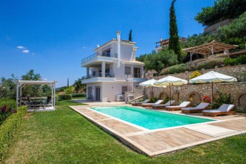 Panoramic View Villa in Peloponnese, Luxury Property in Peloponnese 26