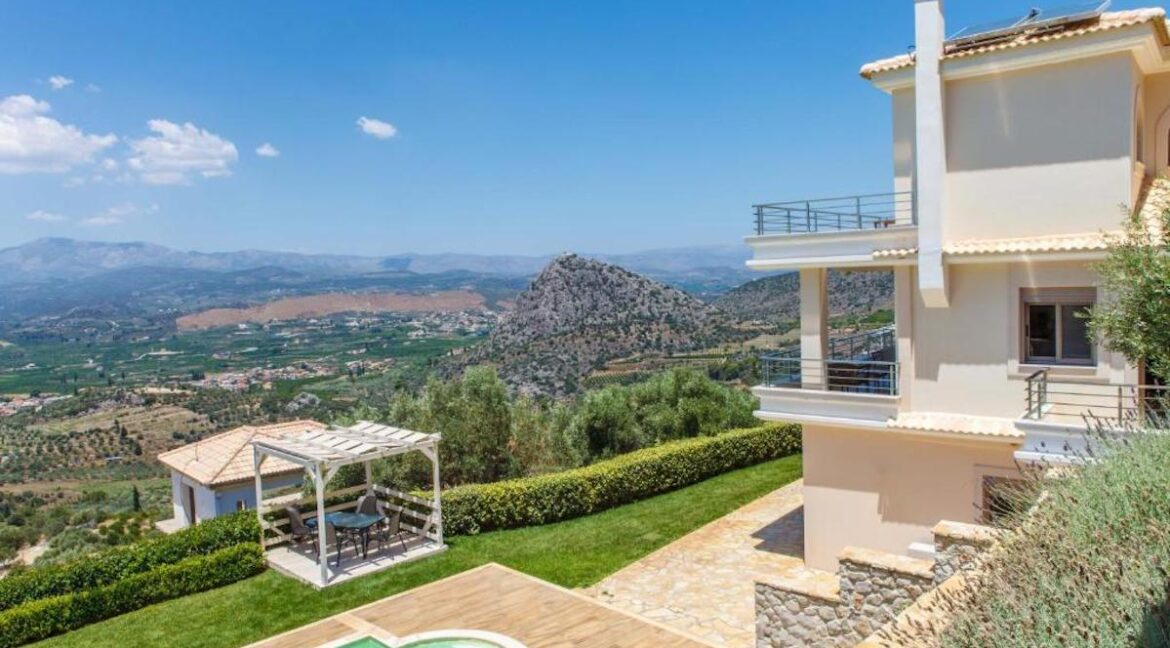 Panoramic View Villa in Peloponnese, Luxury Property in Peloponnese 28