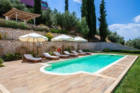 Panoramic View Villa in Peloponnese, Luxury Property in Peloponnese 29