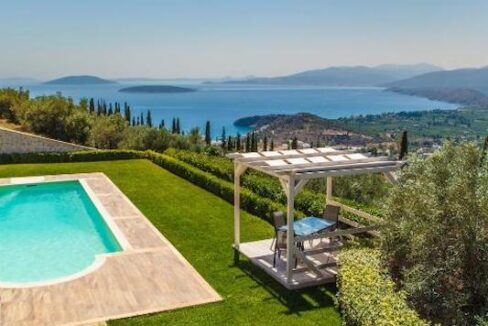 Panoramic View Villa in Peloponnese, Luxury Property in Peloponnese 30