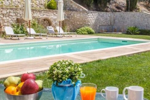 Panoramic View Villa in Peloponnese, Luxury Property in Peloponnese 31