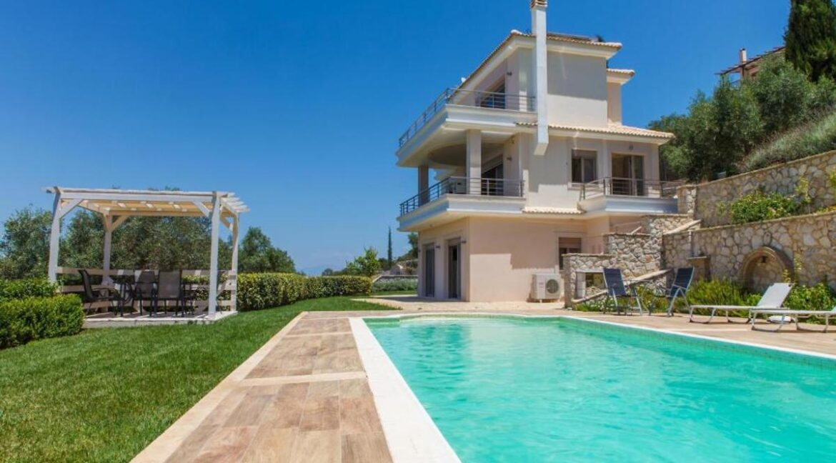Panoramic View Villa in Peloponnese, Luxury Property in Peloponnese 32