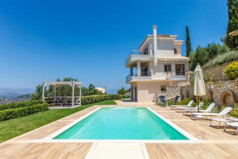 Panoramic View Villa in Peloponnese, Luxury Property in Peloponnese 33