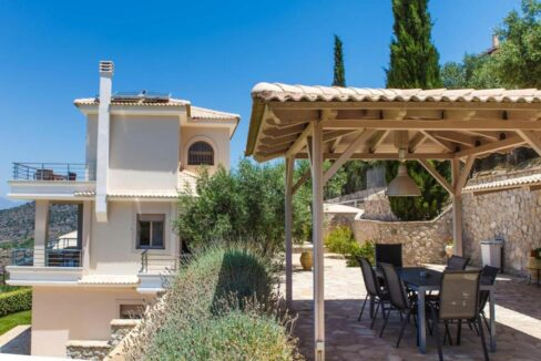Panoramic View Villa in Peloponnese, Luxury Property in Peloponnese 4