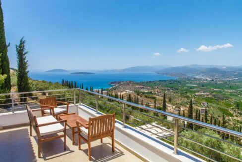 Panoramic View Villa in Peloponnese, Luxury Property in Peloponnese 6