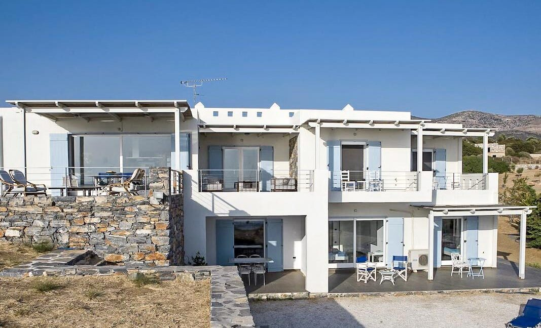 Seafront Detached Houses Naxos Island, Seafront Property Naxos Greece for sale. Properties in Greek Islands 12