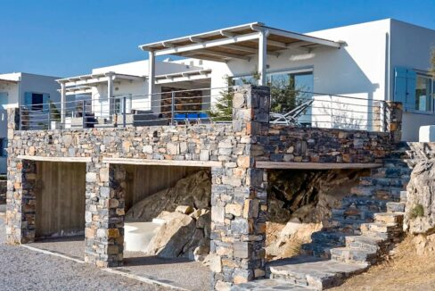 Seafront Detached Houses Naxos Island, Seafront Property Naxos Greece for sale. Properties in Greek Islands 27