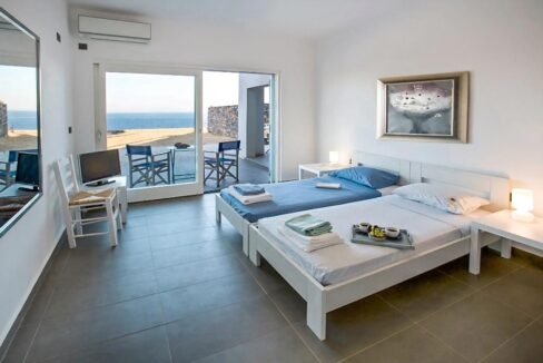 Seafront Detached Houses Naxos Island, Seafront Property Naxos Greece for sale. Properties in Greek Islands 30