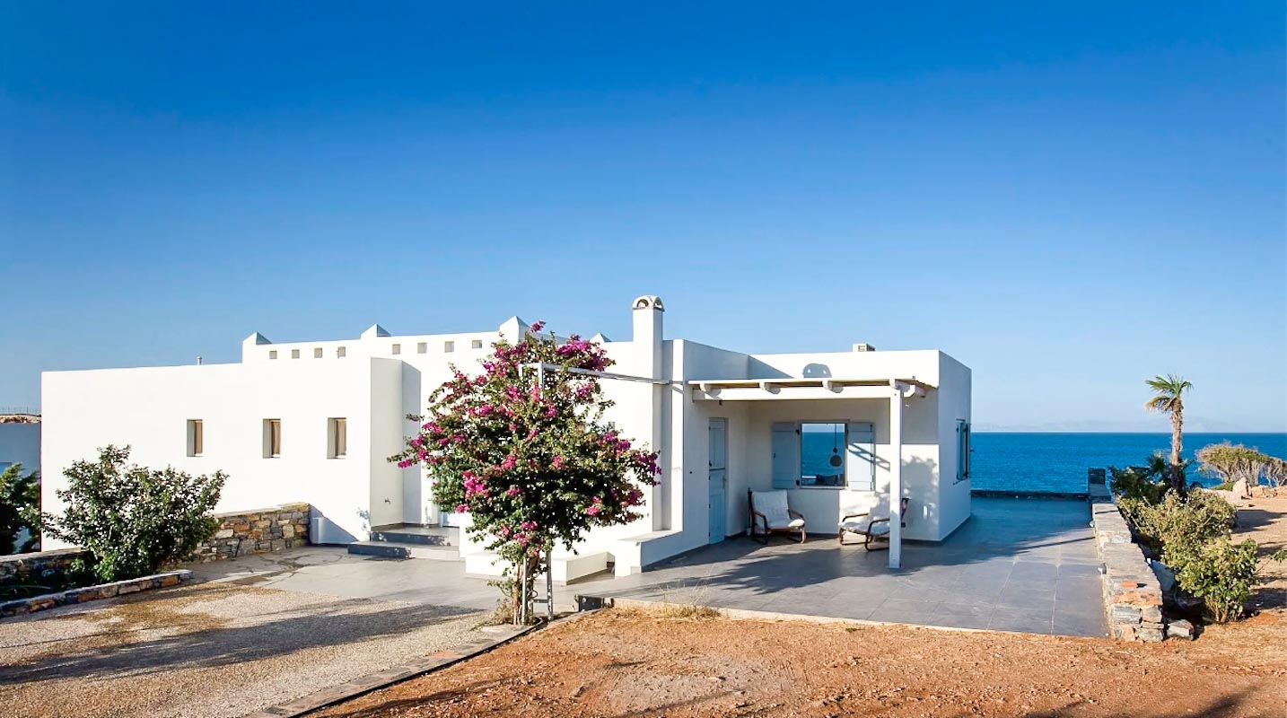 2 Seafront  Detached Houses Naxos Island