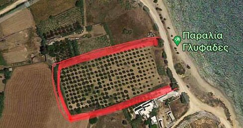 Seafront Land in Paros Greece to built, Land for Sale Cyclades Greece17