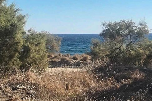Seafront Land in Paros Greece to built, Land for Sale Cyclades Greece3