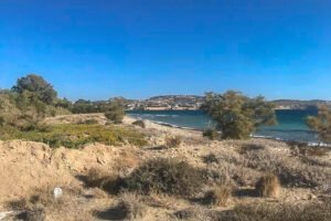 Seafront Land in Paros Greece to built, Land for Sale Cyclades Greece