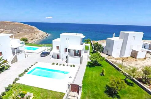 Seafront Maisonette with Private Pool in Naxos Greece