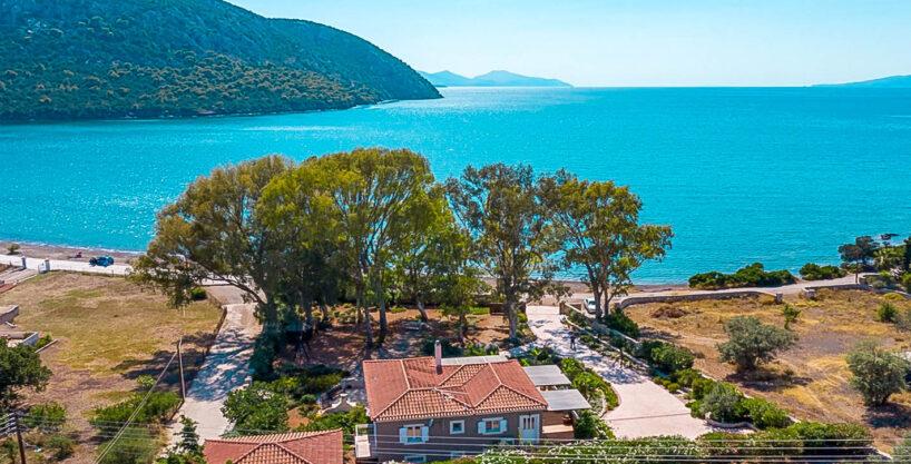 Seafront Paradise Villa at Porto Heli Peloponnese, Porto Heli Properties