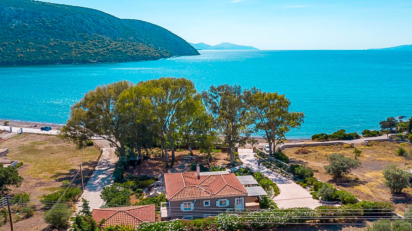 Seafront Paradise Villa at Porto Heli Peloponnese