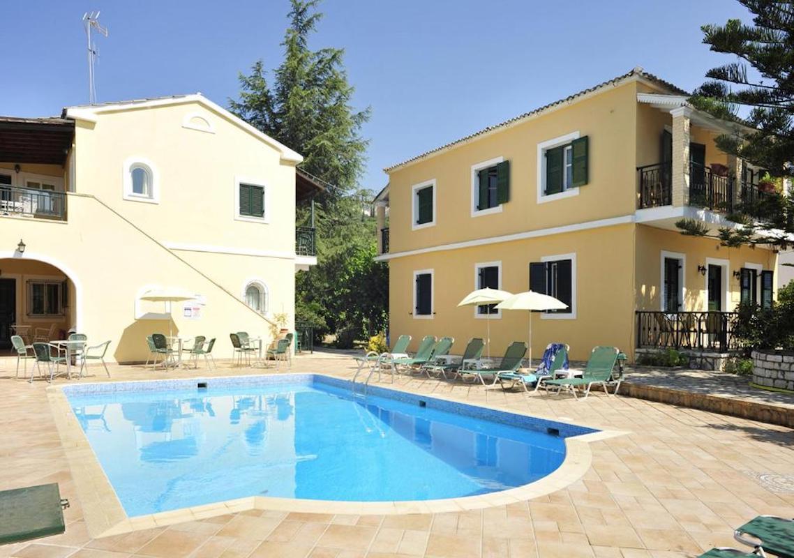 Small Hotel for Sale Corfu, 4 apartments
