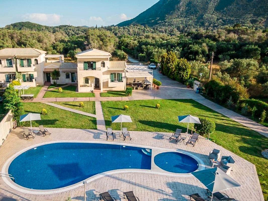 Villa For Sale South Corfu ( 3 Houses)
