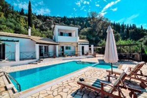 Villa For Sale South Corfu Greece, Property in Corfu