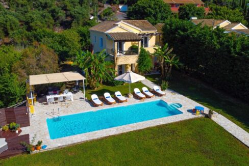 Villa with direct sea access at Corfu, Kassiopi. Corfu Luxury homes 25