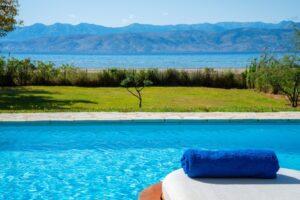Villa with direct sea access at Corfu, Kassiopi. Corfu Luxury homes