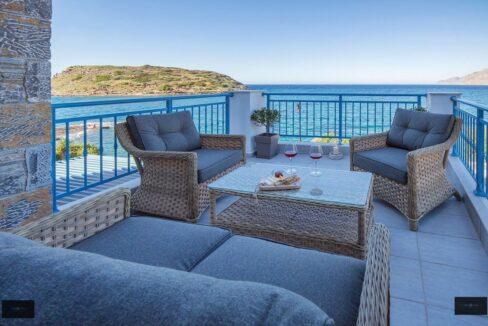 Waterfront Villa with sea view in Crete Greece 7