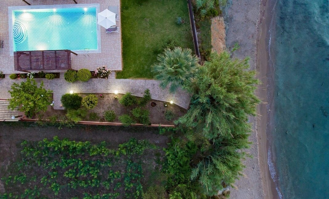 Beachfront Villa for Sale Corfu Greece, Corfu Seafront Properties for sale 1