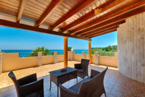 Beachfront Villa for Sale Corfu Greece, Corfu Seafront Properties for sale 15