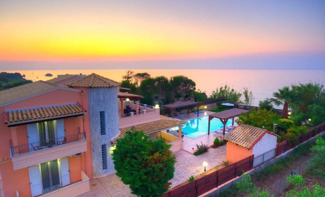 Beachfront Villa for Sale Corfu Greece, Corfu Seafront Properties for sale 2