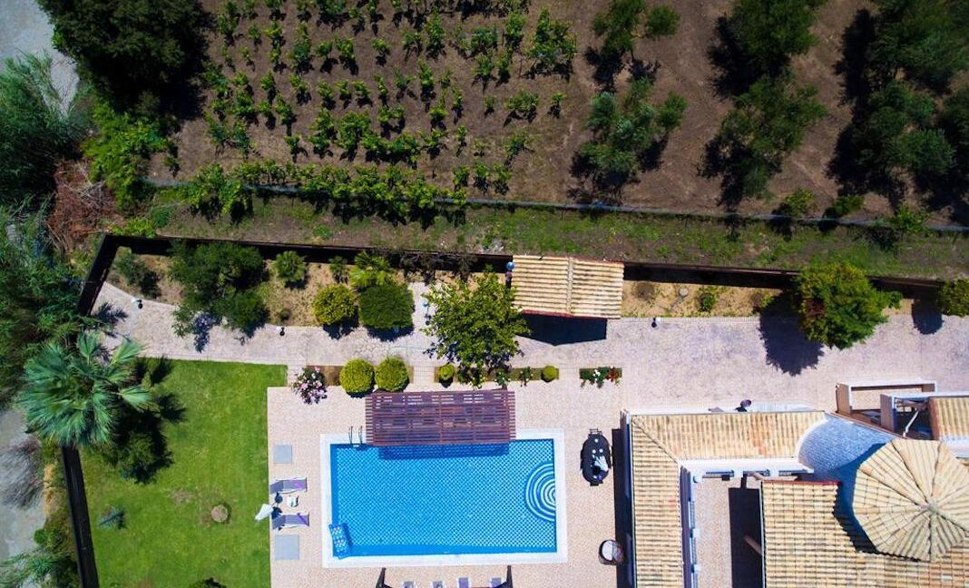 Beachfront Villa for Sale Corfu Greece, Corfu Seafront Properties for sale 26