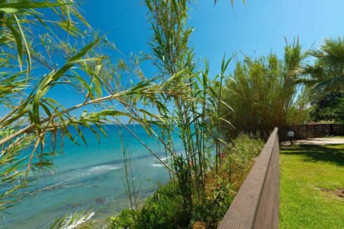 Beachfront Villa for Sale Corfu Greece, Corfu Seafront Properties for sale 3