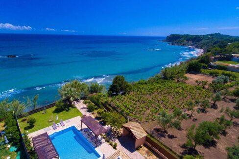 Beachfront Villa for Sale Corfu Greece, Corfu Seafront Properties for sale 30