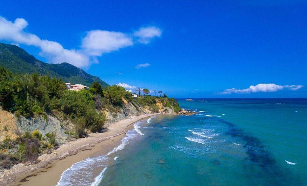 Beachfront Villa for Sale Corfu Greece, Corfu Seafront Properties for sale 31